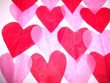 Paper Hearts by cohdra at Morgue File