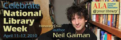 National Library Week - April 11-17