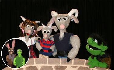 3 Billy Goats Gruff by Puppet Art Theater