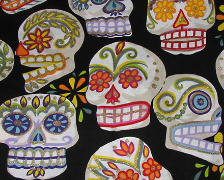 Sugar skulls courtesy of Flickr user peppergrasss
