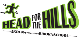 Aurora School's Head for the Hills 5K