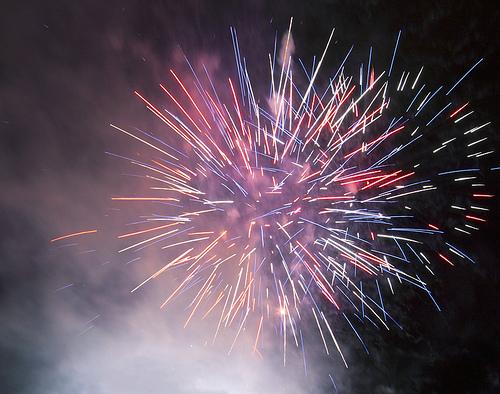 Fireworks by Flickr user Nigel Howe