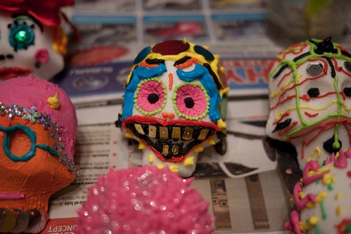 Sugar Skulls photo by Flickr user Alex Barth