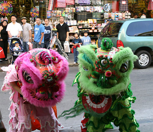 Lion Dancers from Jing Mo Athletic Association