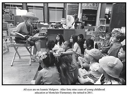 """Teacher Jeannie Mulgrew in Reenie Raschke's """"My Town Montclair"""""""