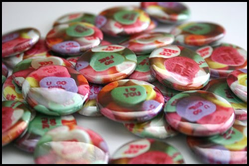 Valentine buttons image from the Mission branch of SFPL, which is also doing a button craft 2/14
