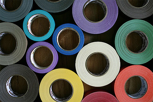 Duct tape image by woodleywonderworks via Flickr