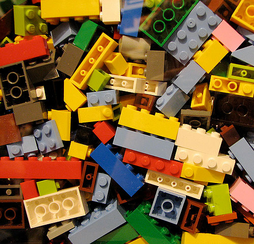 Lego Bricks photo by Flickr user bdesham