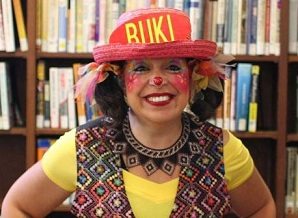 Buki the Clown - Image from Friends of Lakeview Library
