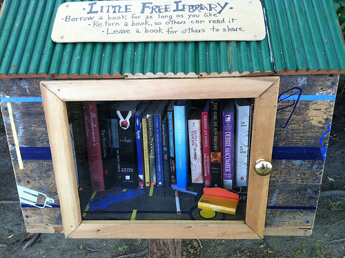Little Free Library photo by Michael R. Perry via Flickr