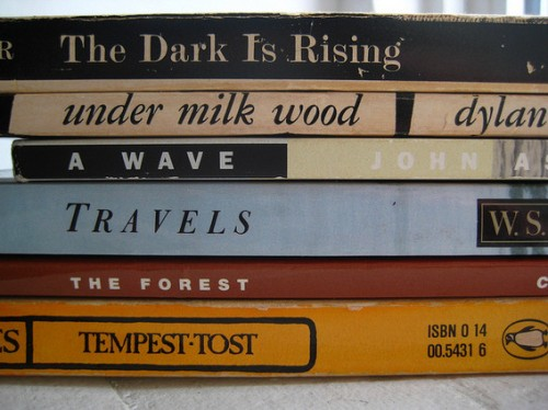 Book spine poem by Household Opera