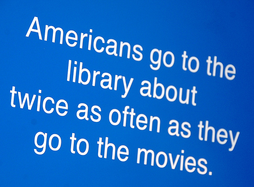 Library stat from Long Beach Public Library via Flickr