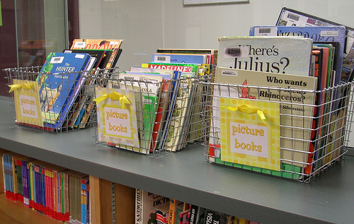 Picture books photo by Enokson via Flickr
