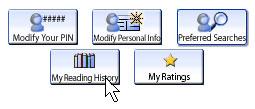 Reading history link on OPL website