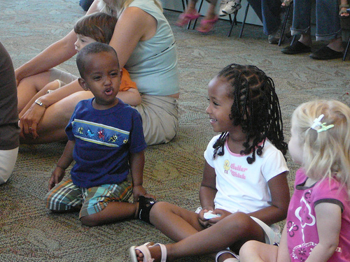 Storytime at the San Jose Library via Flickr