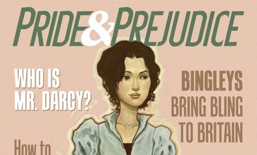 Cover of Pride & Prejudice the graphic novel
