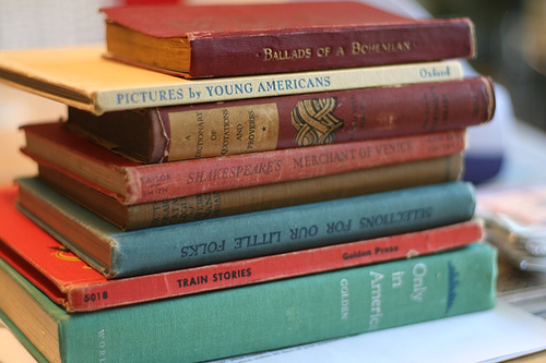Old Books photo by Ali Edwards via Flickr