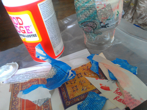 Craft supplies photo by Julie Jordan Scott via Flickr