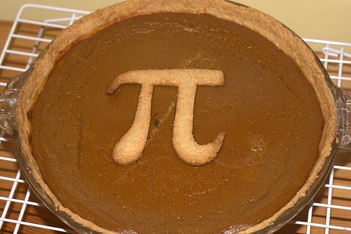 Pi Pie.  Photo by Paul Smith via Flickr.