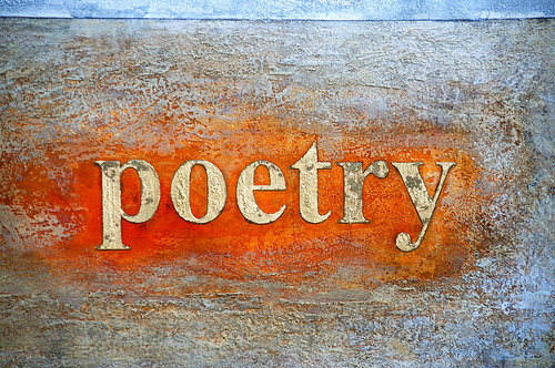 Poetry image by blowfishsoup via Flickr