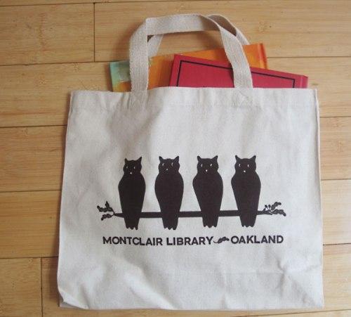 Montclair Library tote bag