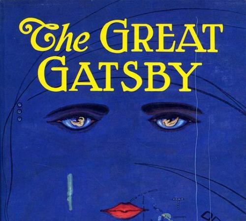 The Great Gatsby cover by Francis Cugat