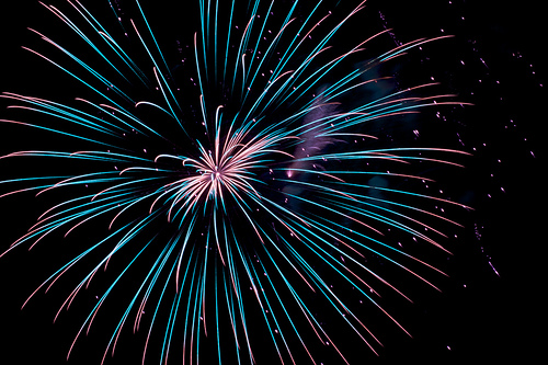 Fireworks photo by Jeff Golden via Flickr