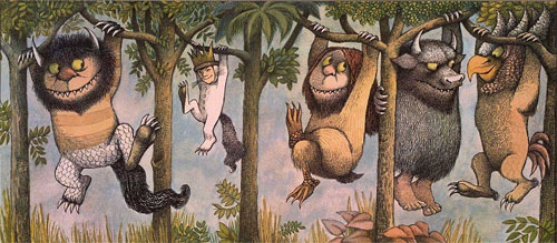 "Scene from Maurice Sendak's ""Where the Wild Things Are"""