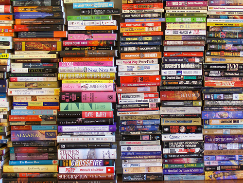 Book donations photo by Joe Shlabotnik via Flickr