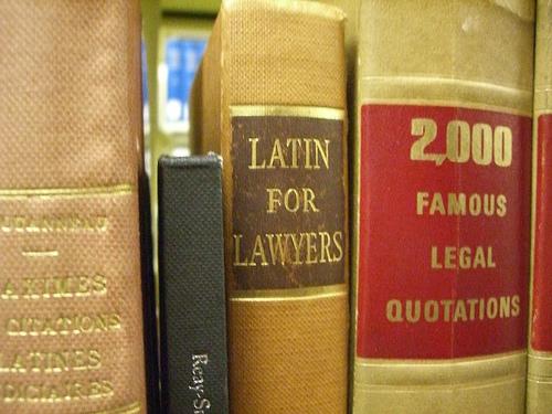 Law books photo by umjanedoan via Flickr