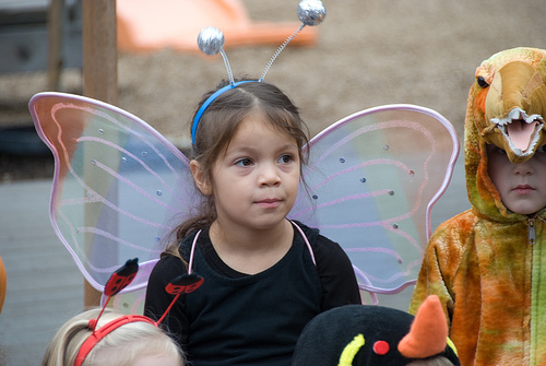 Butterfly costume - photo by Sergio Feria via Flickr
