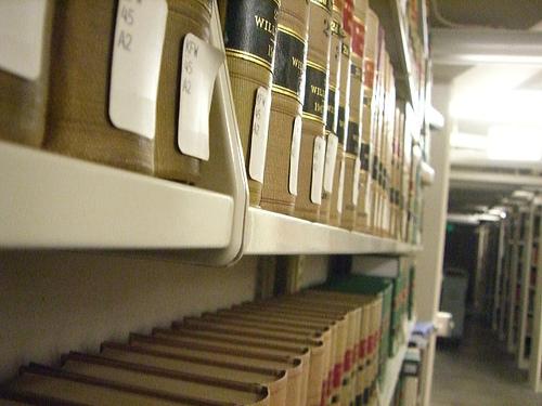 Law books - photo by umjanedoan via Flickr