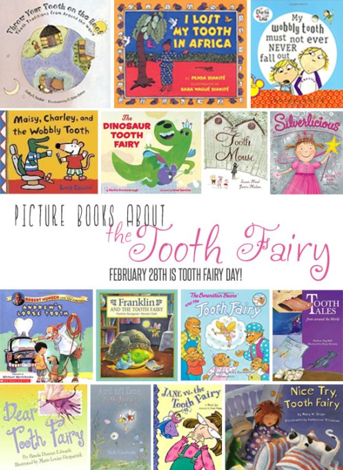 Tooth Fairy picture books at the Oakland Public Library