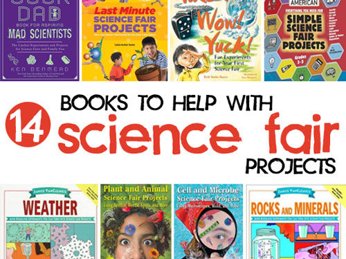 14 Science Fair Project Books Available at the Montclair Library