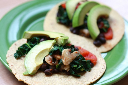 Vegetarian Tacos photo by Jennifer via Flickr