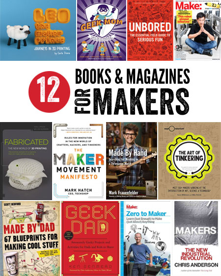 Books for Makers - a list from the Friends of Montclair Library
