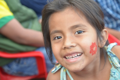 Face painting photo by David Amsler via Flickr