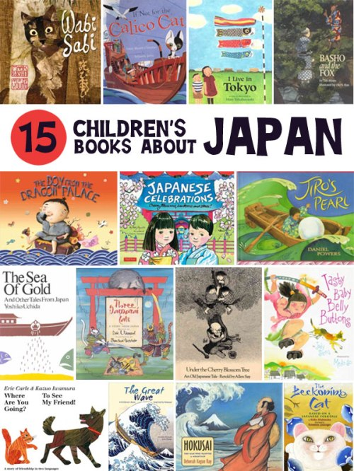 15 Children's Books About Japan, a list by the Friends of Montclair Library
