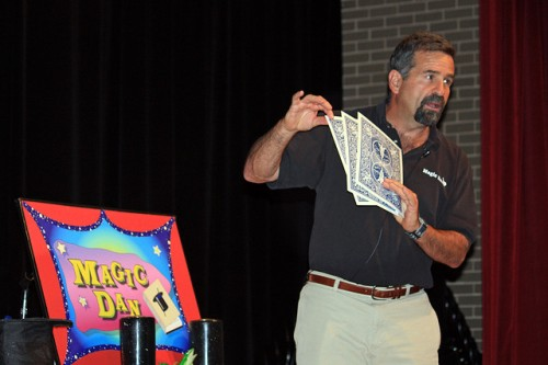 Magic Dan photo by Skokie Public Library