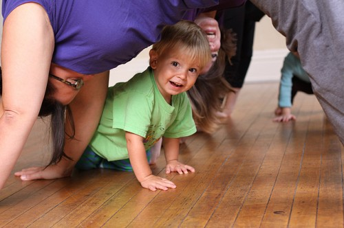 Toddler Yoga photo by Jessica Lucia via Flickr