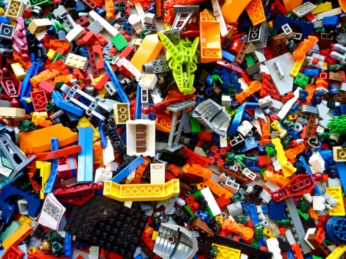 Lego Photo by EgnaroorangE via Flickr