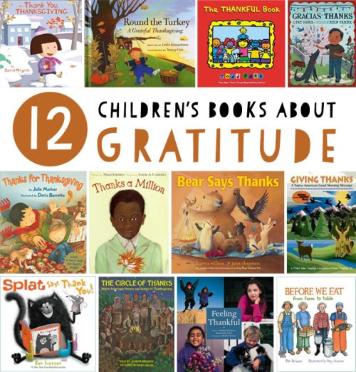 Children's books about gratitude - a list by the Friends of Montclair Library
