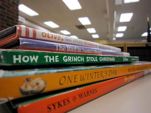 Christmas Books photo by Kate Ter Haar via Flickr