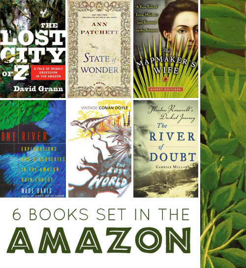 Books set in the Amazon rainforest, a list by the Friends of Montclair Library
