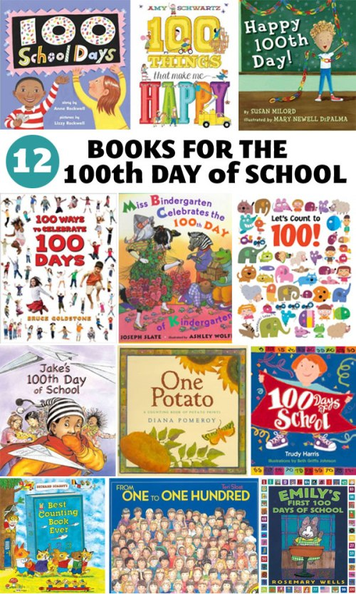 Books for the 100th Day of School, a list by the Friends of Montclair Library