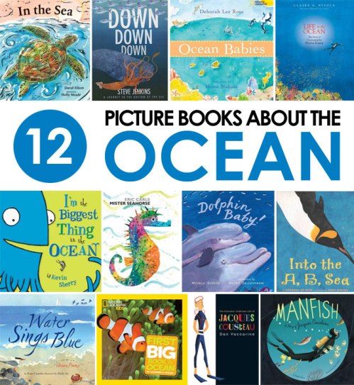 Picture books about the ocean, a list by the Friends of Montclair Library