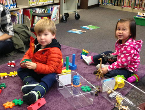 Playtime at Montclair Library