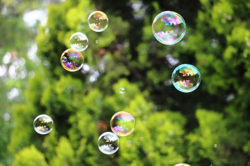 Bubbles photo by Clint Mason via Flickr