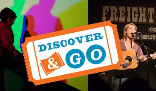 Discover and Go with your Oakland Public Library card