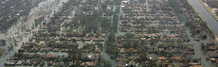 FEMA photo of New Orleans flooding by Bob McMillan